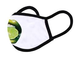 "White Face Mask ""Limon lips"""