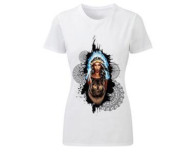 T-Shirt «Indian Girl 02»