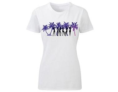 T-Shirt «Silluet of girls»