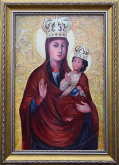 Icon of Mother of God with Jesus