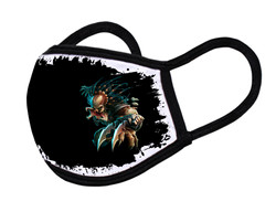 "Grange Black Face Mask ""Predator"""