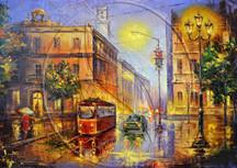 Lviv tram painting