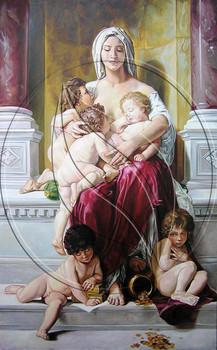 """La Charite (Charity)"" copy artwork"