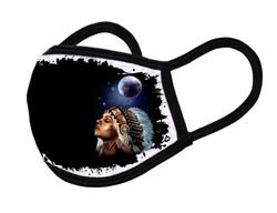 """Grange Black Face Mask """"Indian girl"""""""