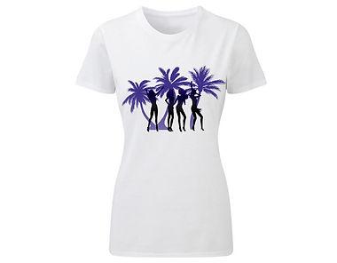 T-Shirt «Silluet of girls 02»