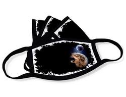 "Grange Black Face Mask ""Wolf head"""