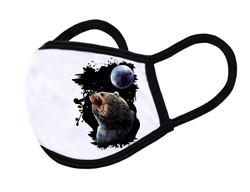 """White Face Mask """"Black bear"""""""