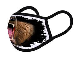 "Grange Black Face Mask ""Bear mouth"""