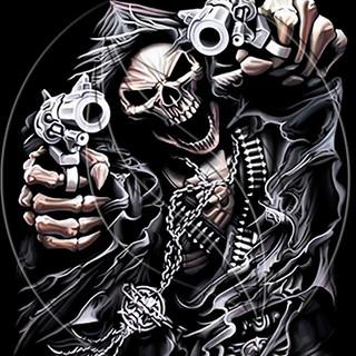 Gangster skeleton