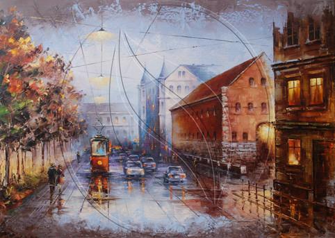 Lviv, Pidvalna Street painting