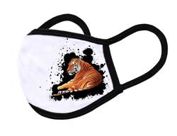 "White Face Mask ""Tiger"""