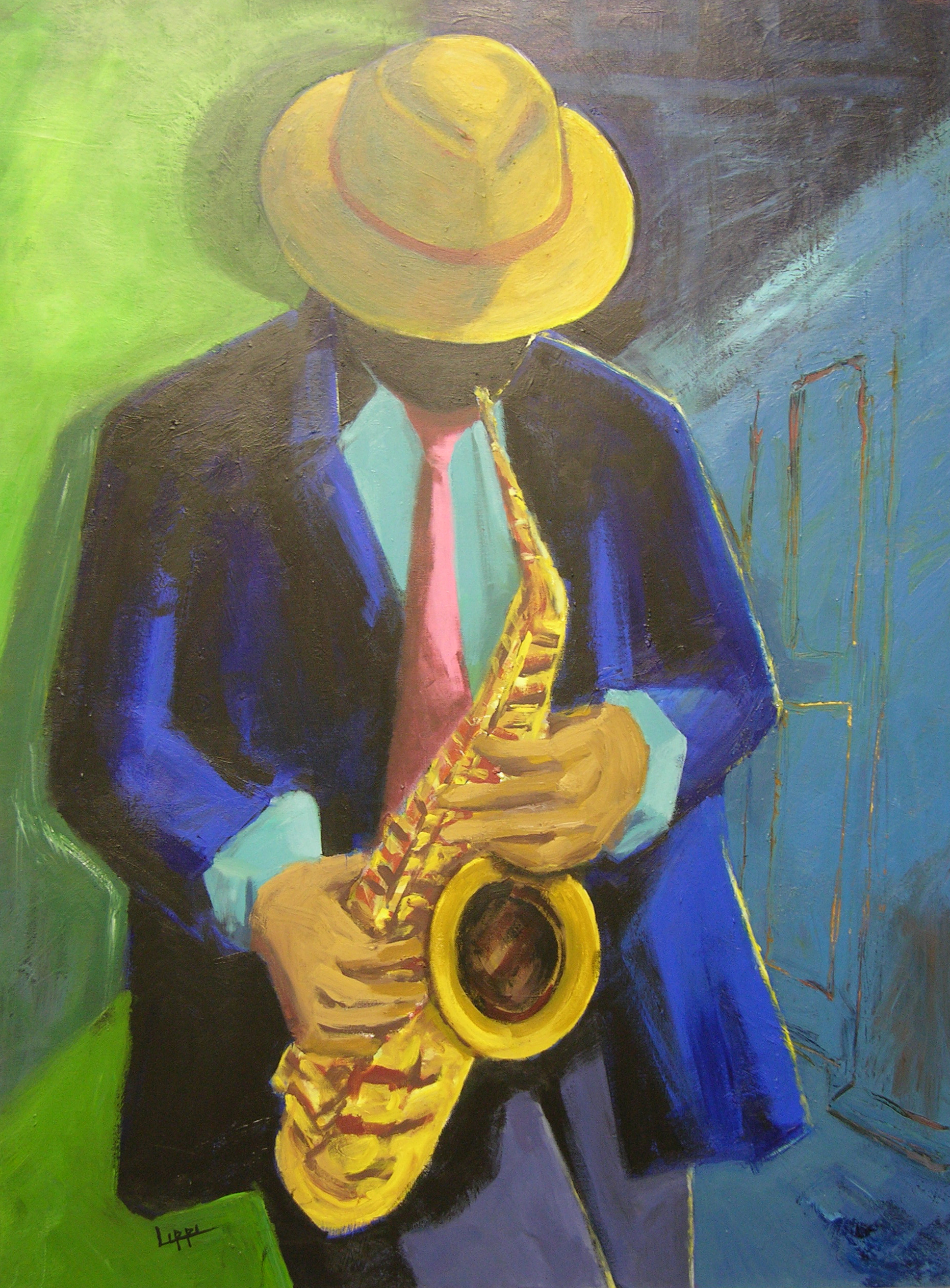 Sax in the City / SOLD