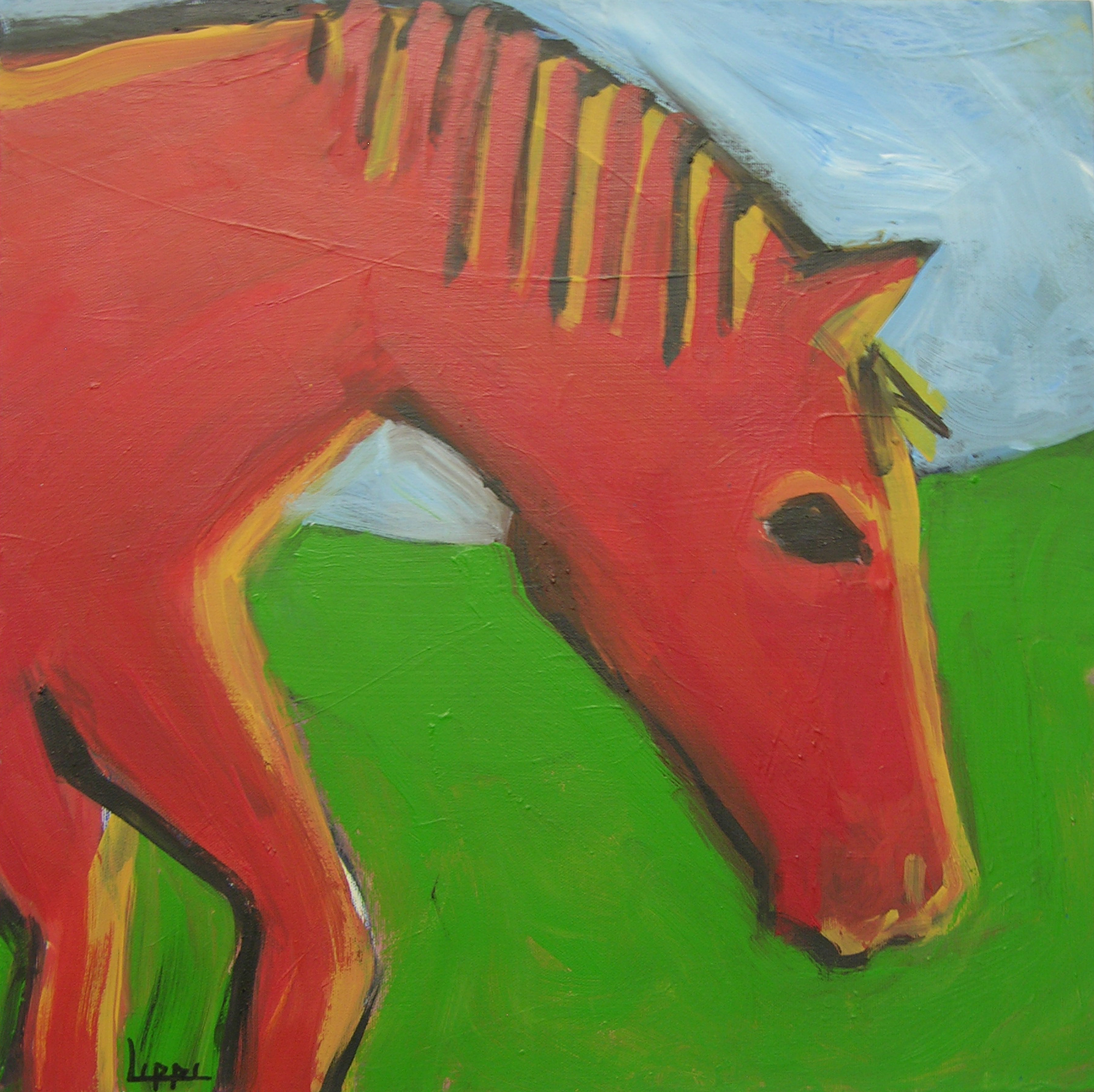 Red Pony / SOLD
