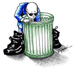 splash trash