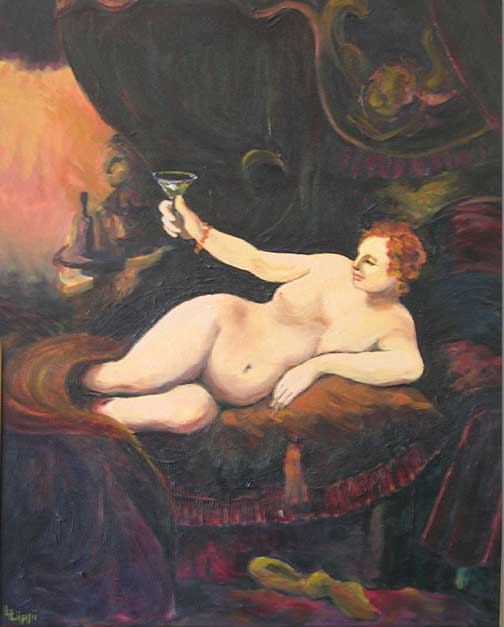 Woman with Wine / GIFTED