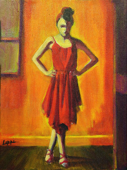 Young Ballerina / SOLD