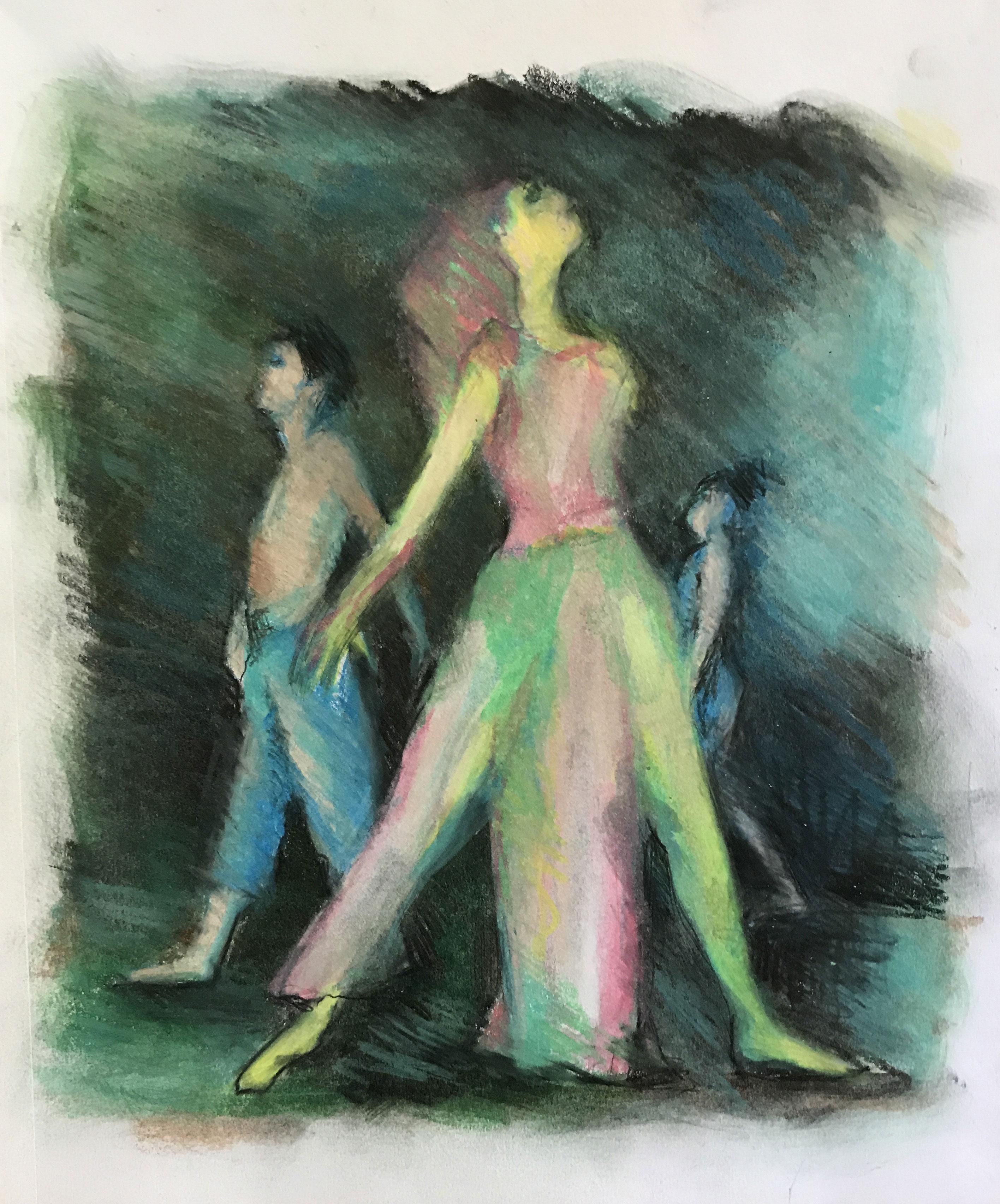 Ballet in Pastel