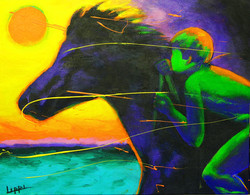 Riding the Storm / SOLD