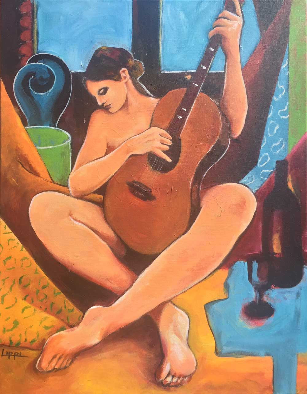 Woman with Guitar / GIFTED
