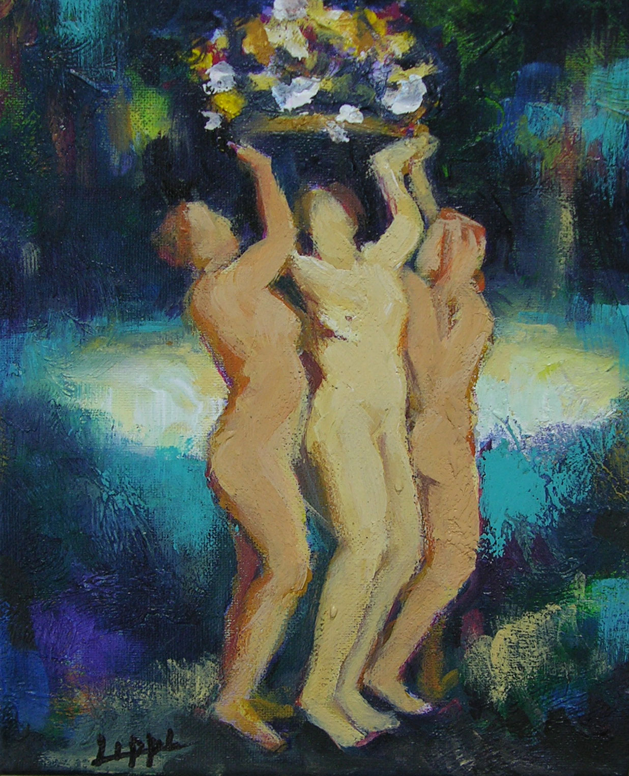 Flower Ladies / SOLD