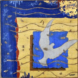 L'envol bleu - 30X30