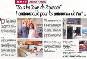 journal du Luberon - été 2012