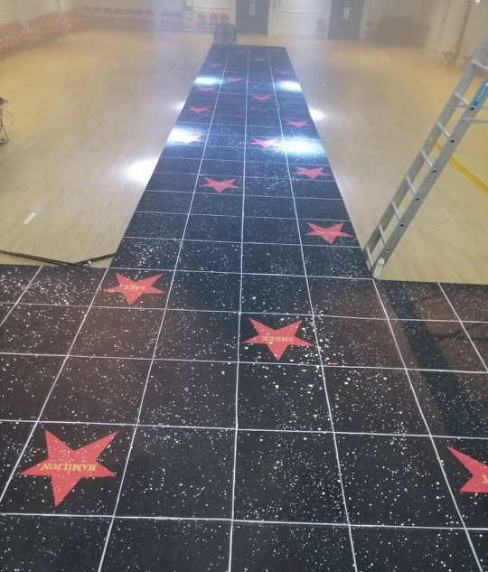 Musical Walk of Fame / Palace Theatre / Designed by Joanne Curtis