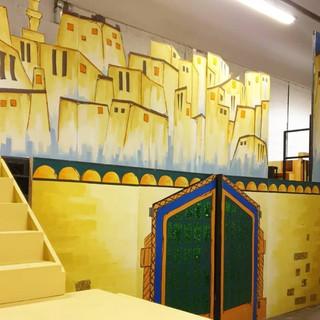 Aladdin / Scenery Hire Scotland Designed by Margot Traynor