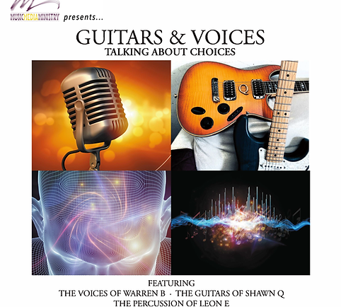 GUITARS & VOICES...Talking About Choices - Full CD Via Digital Download