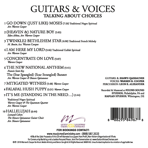 GUITARS & VOICES... Talking About Choices - (CD)