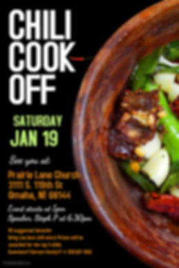 Copy of Chili Cook Off Poster Template -