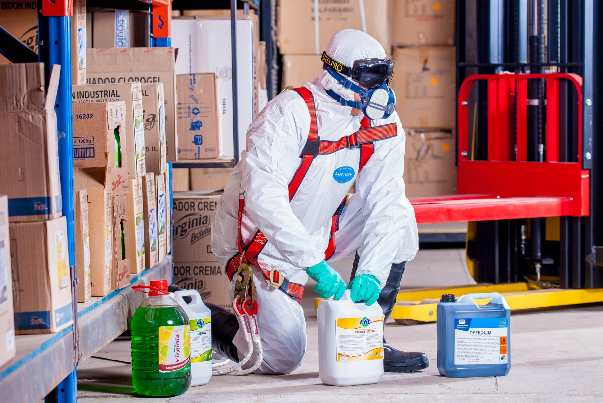 Hazardous chemical handling