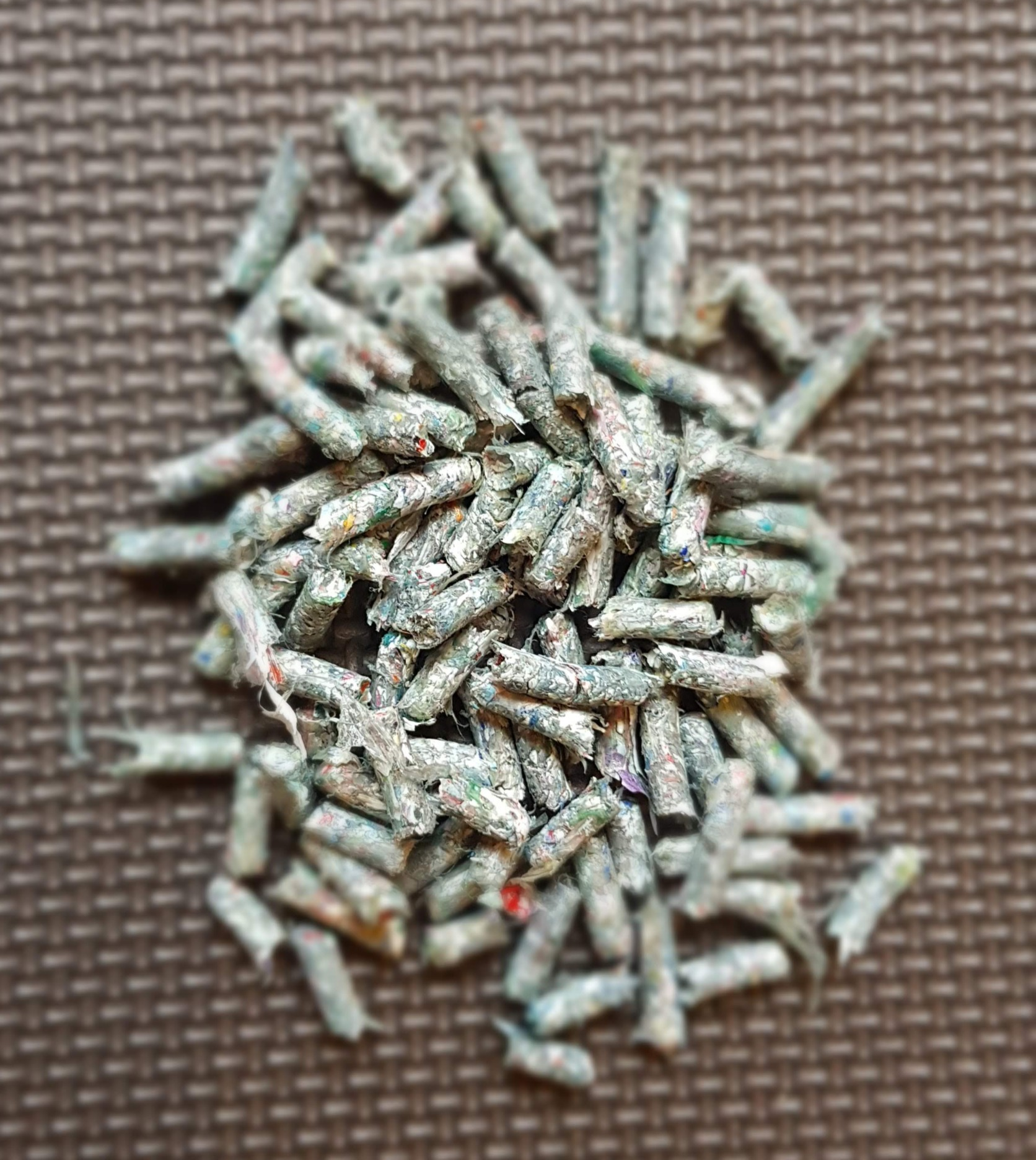 Compressed pellets