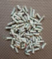 Compressed polyolefin pellets