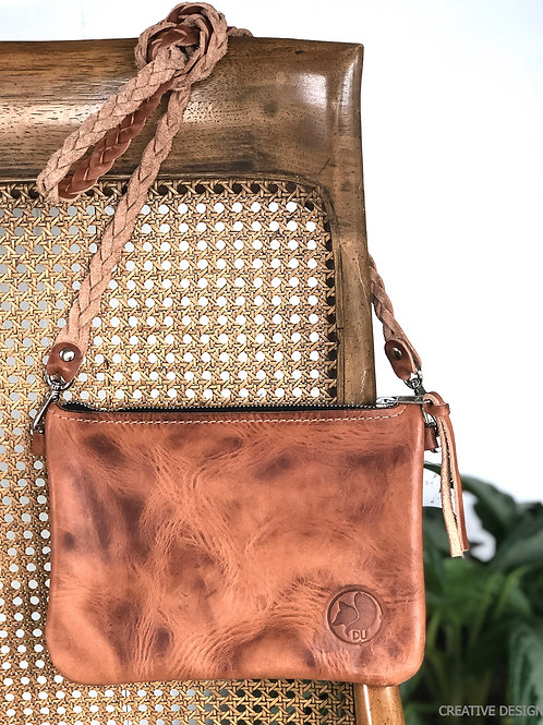 leather crossbody hancrafted horween leather made in usa