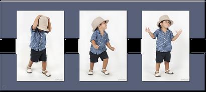 Ejemplo de EnQuade con Tres Fotos Verticales