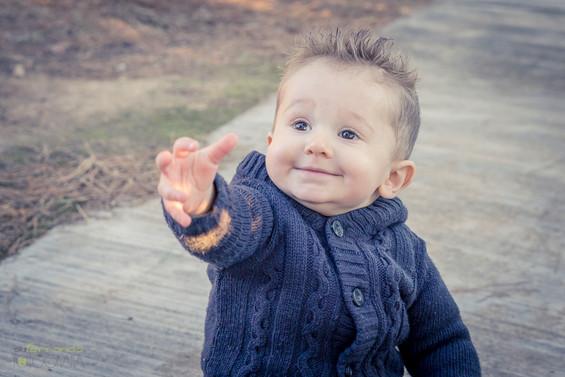 Fotografía infantil de exteriores