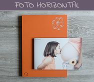 Cuadro artesanal con fotografía Horizontal