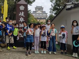 春休み企画で金華山に登りにきました!!