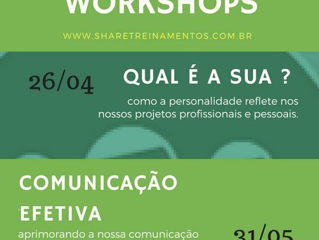 Próximos Workshops