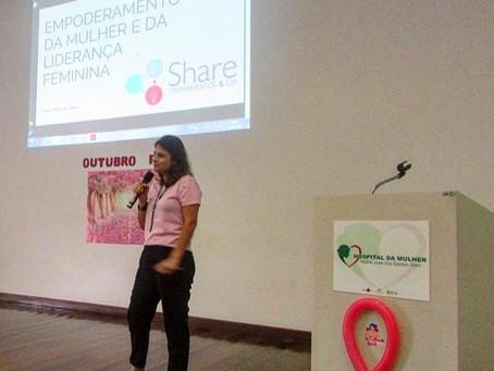 Palestra Empoderamento e Liderança Feminina