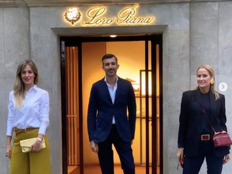 Loro Piana - maestro del cashemere - presenta sus últimas novedades