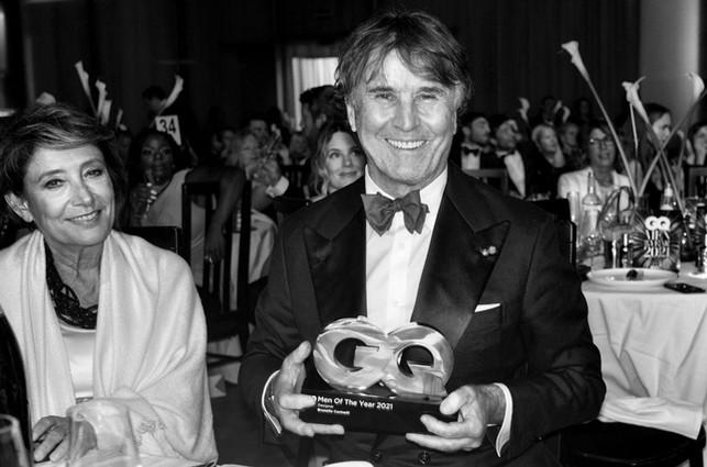 Brunello Cucinelli 'Diseñador del año' por GQ UK