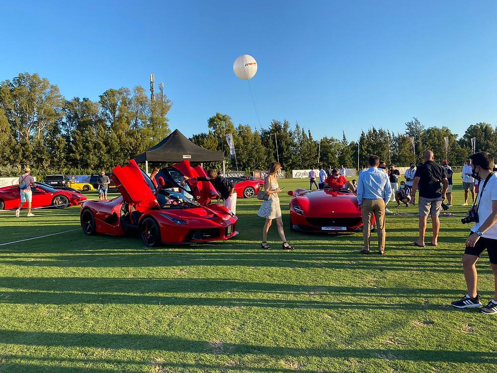 autobello evento de coches de lujo