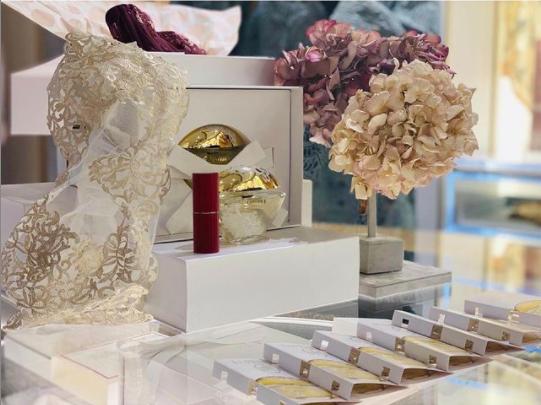 cata y experiencia olfativa del nuevo perfume de la perla lingerie