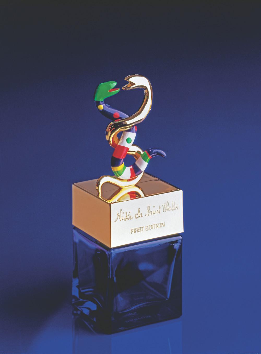 Niki de Saint Phalle. Flaçon de parfum. 1982. © 2021 Niki Charitable Art Foundation