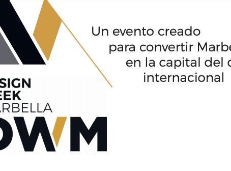 Design Week Marbella; el nuevo evento de lujo que convertirá Marbella en la capital del diseño.