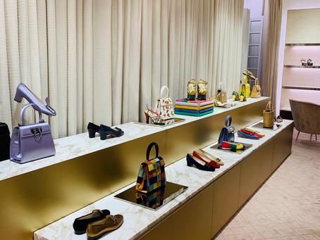 """Salvatore Ferragamo presenta su colección """"Creations"""" en un evento icónico."""