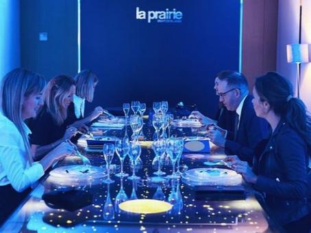 Cosmética de lujo, Arte, y tecnología con La Prairie en la presentación de Skin Caviar Liquid.