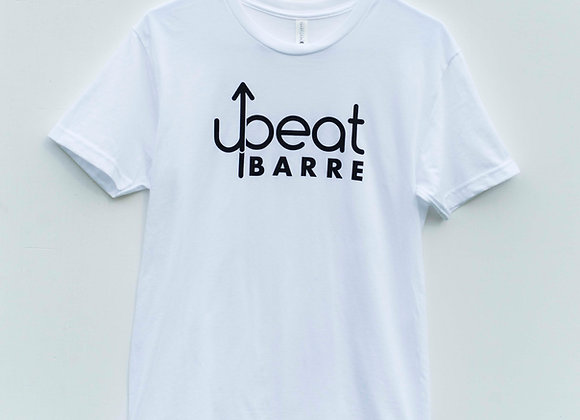 UpBeat Barre White Tee